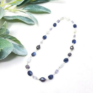 SILPADA Pearl Natural Stone 925 Sterling Silver Necklace