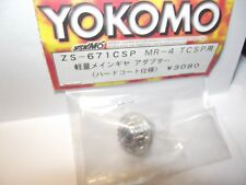 YOKOMO ZS-671CSP FRONT  MAIN GEAR ADAPTOR  SILVER FOR MR-4TC SP