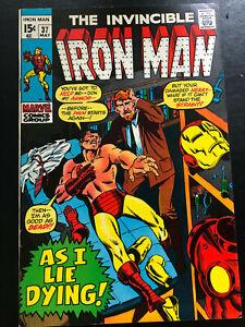 Iron Man #37 FN (6.0)