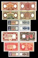 2x  500 - 10.000 Lire - Ausgabe 1947 - 1963 - Reproduktion - 08