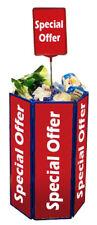 Plastic Promotional Dump Bin - Various Colours