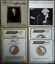MAURICE CHEVALIER - 60 YEARS OF SONGS - LONDON INTERNATIONAL - (4) LP BOX SET