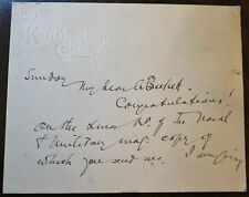 Joseph Snell Wood (1853-1920, The Gentlewoman) Signed Letter Card