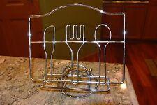 """Recipe Book Book Metal Stand Decorative Metal Stand 9.50"""" L X 8.75"""" H X 6"""" W"""