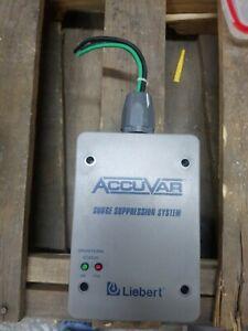 LIEBERT Accuvar ACV120Y110RE Surge Suppression System 120/208 volt