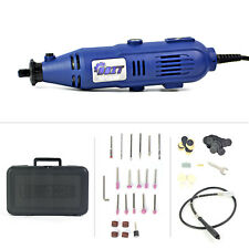 Variable Speed Rotary Tool Kit Grinder w/ Case 110 Pieces Accessories Set Corded
