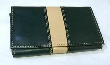 Tobacco Pouch with Booklet Holder Wrap Around  Soft PU Lined Tobacco Section