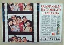 D626 - Advertising Pubblicità - 1986 - WELLA SCHIUMA SOFT STYLE