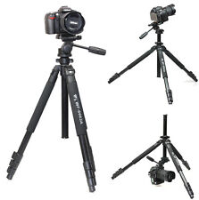Pro Tripod  for camera Camcorder Binoculars video include head Weifeng WF-6663A