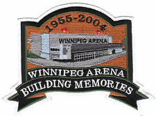 WINNIPEG JETS ARENA BUILDING MEMORIES PATCH 1955-2004 RARE