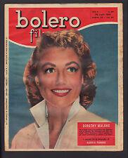 BOLERO FILM 481/1956 DOROTHY MALONE MARILYN MONROE AUDREY HEPBURN FUNNY FACE