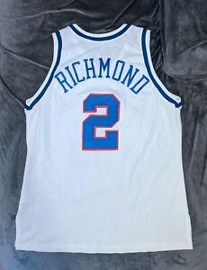 MITCH RICHMOND Champion SACRAMENTO KINGS Authentic Jersey 48 Tisdale Simmons