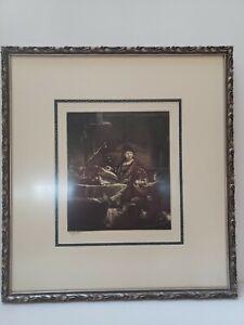 "Rembrandt Amand-Durand ""JAN UTENBOGAERT, THE GOLD WEIGHER"" , 19th copper of 1639"