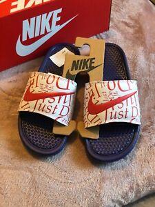 Nike Benassi JDI Womens Pool Sliders Sandals Size UK 4.5 EU 38 New & Authentic