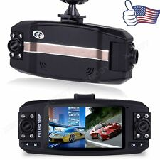 HD 1080p Dual Lens Car DVR Video Dash Cam Recorder Camera G-sensor Night Vison