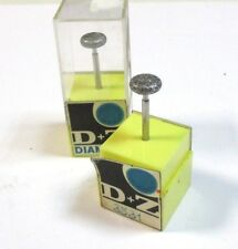 2x Diamant Broche de terre kopfø10 mm de D + Z 3531 neuc4781