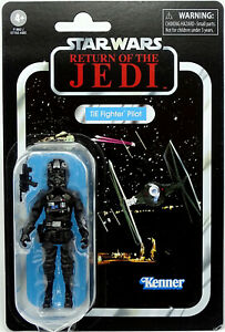 """IMPERIAL TIE FIGHTER PILOT VC65 """"ROTJ"""" STAR WARS THE VINTAGE COLLECTION HASBRO"""