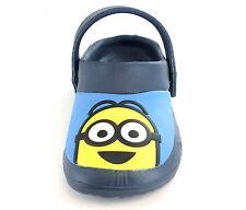 Boys Despicable Me Minion Clog Flip Flop Sandal Clogg Toddler Children Size 6-12