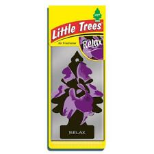 4 X pequeño árbol Mágico Ambientador Coche Relax Freshner 2D