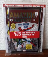 Amazing Fantasy 15 - Foiled Cover! 1st Spider-Man Mexican Sealed Pack ASM1 & 2