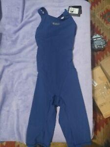 Arena Powerskin ST Womens Swimwear Race Swimsuit NAVY BLUE Size 34 NWT