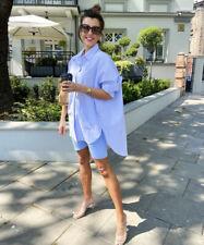Zara Oversized Poplin Shirt 100% Cotton ONLY Beach Cover Dress Size XXL