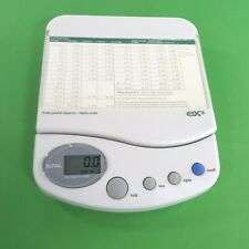 Royal Ex3 Digital Postage Scale 3lb Capacity With 2002 Postal Rate Slip Battery Op