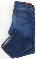 "AG Adriano Goldschmied Womens ""The Club"" Jeans Flare Mid Rise Size 30R"