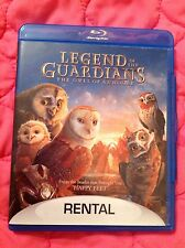 LEGEND OF THE GUARDIANS: THE OWLS OF GAHOOLE BLU-RAY 2010 FAMILY ANIMATED MOVIE