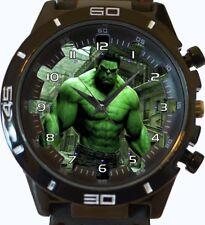 Incredible Hulk Comic Style New Gt Series Sports Unisex Gift Wrist Watch