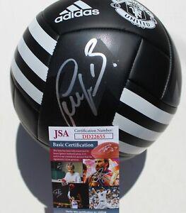 Bastian Schweinsteiger Signed Manchester United Soccer Ball w/JSA COA DD22655