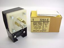 NEW Hubbell 7251-C Dead Front Angle Plug 120/208VAC 20Amp 3-Phase Y NEMA 18-20P