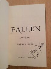 SIGNED by Lauren Kate - Fallen HC Book 1st/1st + Pic