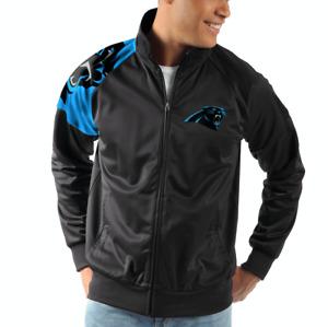 Carolina Panthers G-III Sports INTERCEPTION Full-Zip NFL Track Jacket