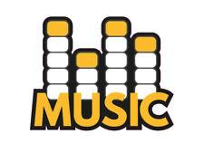 1 x Aufkleber Music Equalizer Disco Logo Sticker Autoaufkleber Oldschool OEM JDM
