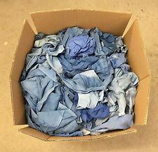 30kg Putzlappen Putztücher Reinigungstücher 100%reine Baumwolle Blau T