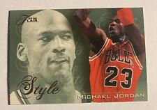 "1995-96 Flair MICHAEL JORDAN #235 ""Style"" Chicago Bulls 🔥"