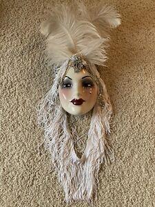 clay art wall mask