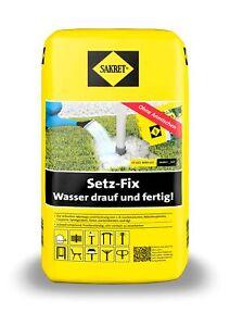 25kg SAKRET Setz-Fix schnellbindender Beton Schnellbeton Montagemörtel