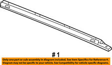 Jeep CHRYSLER OEM Commander Roof Rack Luggage Carrier-Side Rail Right 55156984AE