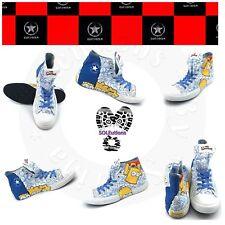 Converse Chuck Taylor HI White/Multi The Simpsons M11