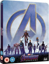 Marvel Avengers: Endgame - Blu-ray Steelbook - 3D & 2D - Zavvi Exclusive