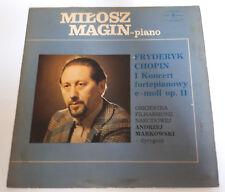 CHOPIN Milosz Magin - Piano concerto No.1 in E minor Op.11 LP Muza