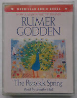 RUMER GODDEN.THE PEACOCK SPRING.READ,JENNIFER HALL.2  CASSETTE 1996,3 HR.NR MINT