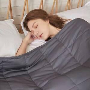 """Gewichtsdecke Weighted Blanket 41 /""""x 60/""""  atmungsaktiv  ungiftig  geruchlos"""