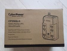 CyberPower CP350SLG Standby UPS System, 350VA/255W, 6 Outlets. Compact.