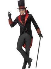 Costumi e travestimenti nero in poliestere per carnevale e teatro da uomo, a tema dei Vampiri
