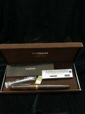 Platinum #3776 Century Dark Briar Fountain Pen, PTB-30000BN#61