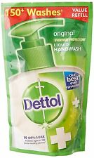 Dettol Liquid Soap Refill Pouch, Original - 185 ml  Pack of 2