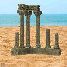 Aquarium Ornaments Medieval Ancient Temple Ruin Corner Columns Fish Tank Decor